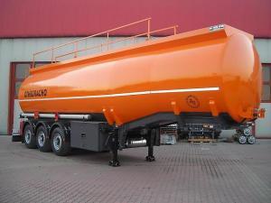 полуприцеп-цистерна для перевозки светлых нефтепродуктов AliRizaUsta