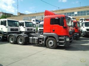 Седельный тягач MAN TGS 26.440 6x4 BLS-WW (L)
