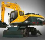 Колесный экскаватор Hyundai R210W-9S