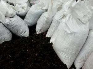 Чернозем в мешках (45 кг)