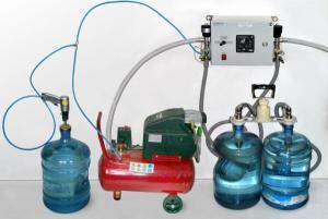 Установка розлива воды ДУЭТ-П-19