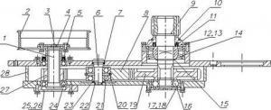 Редуктор бортовой ДУ-93.104.200 (ДУ-47А-03-10)