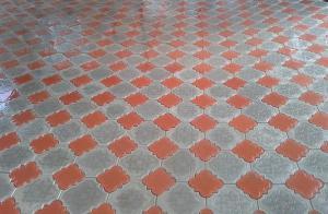 Тротуарная плитка в ассортименте цветная и серая