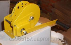 Лебедка ручная с тормозным фиксатором - 825 кг
