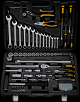 Универсальный набор инструментов 102 шт Berger BG BG102-1214