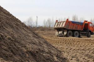 Песок обогащенный напрямую с берега