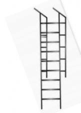 Лестница односекционная приставная ЛПА