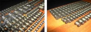Цепи приводные роликовые однорядные, двухрядные, трёхрядные, четырёхрядные, длиннозвенные, с изогнутыми пластинами