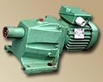 Редукторный электродвигатель VEM с двухступенчатым редуктором КМR, крановые серий МТ, 4МТ, АМТ, ДМТ, взрывозащищённые серий АИМ, ВА, АВ, ВАО2