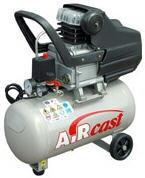 Компрессоры с горизонтальным ресивером: c прямым приводом серии AirCast, с ременным приводом серии AirCast, с ременным приводом (Тандем).