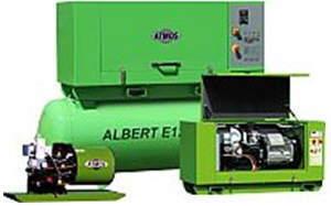 Винтовые стационраные компрессоры ATMOS Albert