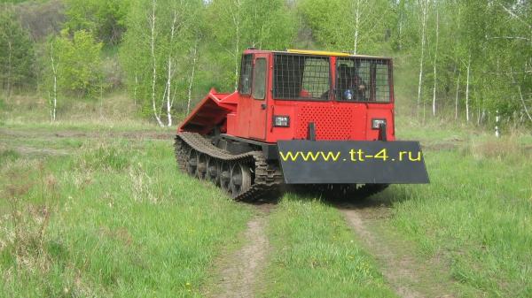 Трелевочный трактор ТТ-4: технические характеристики.