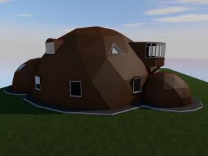 Строительство купольного дома «под ключ» в Ижевске