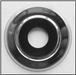 Цоколь плоский для спринклера (хром) тип ES1 (Тайвань)