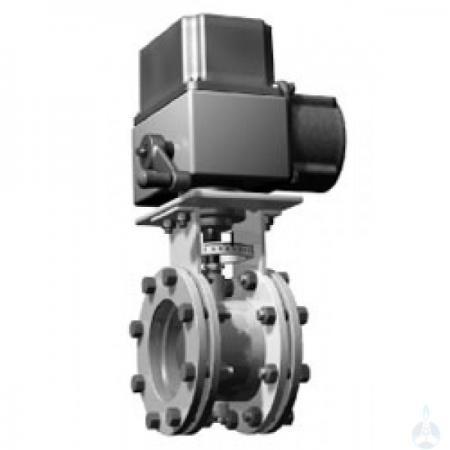 Заслонка дроссельная газовая с электроприводом для ГРП Ду 65