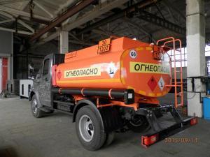 Топливозаправщик ГАЗон Next, 5,3 куб м