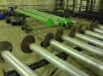 Винтовые сваи из толстостенных труб диаметром 73 мм
