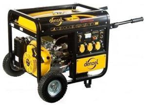 Бензогенератор Denzel DB 6000 E 5,0 кВт ном. мощн.
