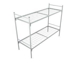 Двухъярусная металлическая кровать
