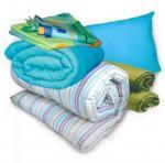 Постельный комплект: матрас, подушка и одеяло
