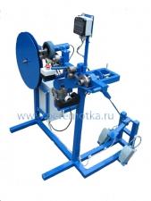 Намоточный станок, устройство перемотки мебельной кромки УПМК-34-80-0,18