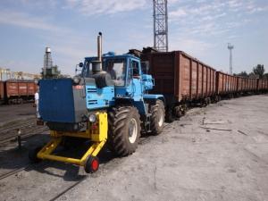 Маневровый тягач ТМ 1.175 (локомобиль, локотрактор, мотовоз)