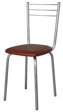 Стул обеденый Е12 Бистро. Стул для столовой,кафе. Стул обеденный полумягкий на металлокаркасе.