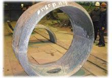 Утяжелитель чугунный УЧК 1020 Тип.Альбатрос Нормаль-НГ 1125, ТУ 4834-009-00221451-2007, Для трубы Ф1020