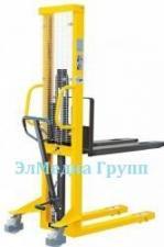 Штабелер ручной, самоходный, гидравлический электрический