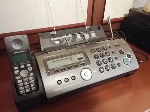 Факс.Телефакс Panasonic KX-FC228 - с радиотрубкой на обычной бумаге А 4