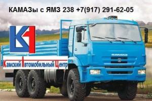 Производим Камаз 43118 с двс Ямз 238
