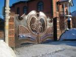 Кованые ворота художественная ковка