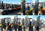Вилочные погрузчики бензиновые, дизельные, газовые