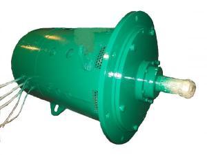Электродвигатель ДПВ-52 (поворота) 60 кВт. ПВ-80% 305В. 220 А. 1230 об/мин.IM-4014