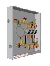 Узел распределительный для учёта расхода тепловой энергии модульный этажный УУТЭМ-Э СОТИС-Unit™