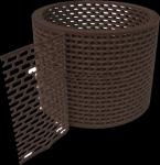 Вентиляционная лента MAGE коричневая