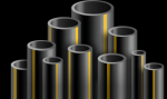 Труба ПНД газовая 225*20,5 мм, ПЭ80 SDR11 max. 6 атм. ГОСТ 50838-2009