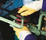 Перчатки Manipula ТЕХНИК ЛАЙТ (TNL-05) (манжет, частичное покрытие) арт.809