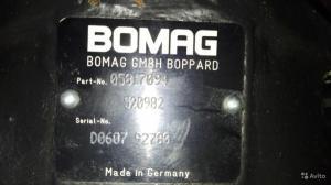 Ремонт гидромоторов Bomag, Ремонт гидронасосов Bomag