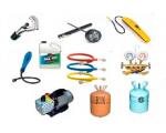 Готовый комплект оборудования и расходных материалов для заправки автокондиционеров