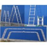 Лестница- трансформер алюминиевая Т444 (Алюмет)