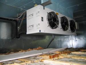 Камеры заморозки, охлаждения, хранения в Крыму. Установка, сервис.