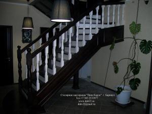 Деревянные лестницы купить в Барнауле