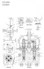 CAT D6N: Блок управления двигателем (джойстик) арт.235-0889