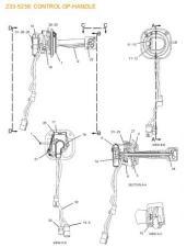 Для CAT D6N: Джойстик управления арт. 233-5236