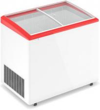 Морозильный ларь FROSTOR 300Е с гнутыми стеклянными створками