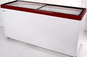 Морозильный ларь с прямым стеклом СНЕЖ МЛП 700