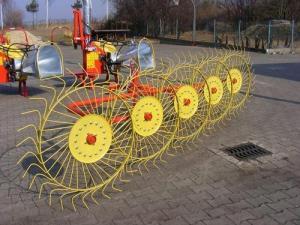 Грабли-ворошилки ГВВ (5 ,8 и 9 колесные)