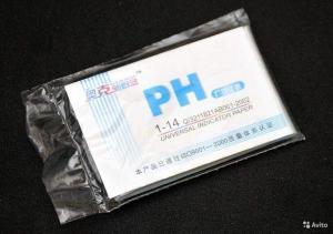 Лакмусогавая бума (pH-тест) 80 полосок