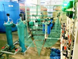 Удаление хлоридов из глицерина - электродиализная установка.